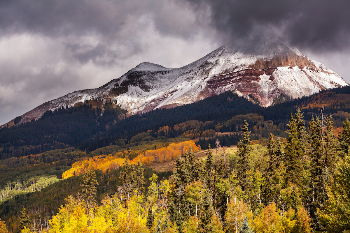 Colorado Rocky Mountains in November