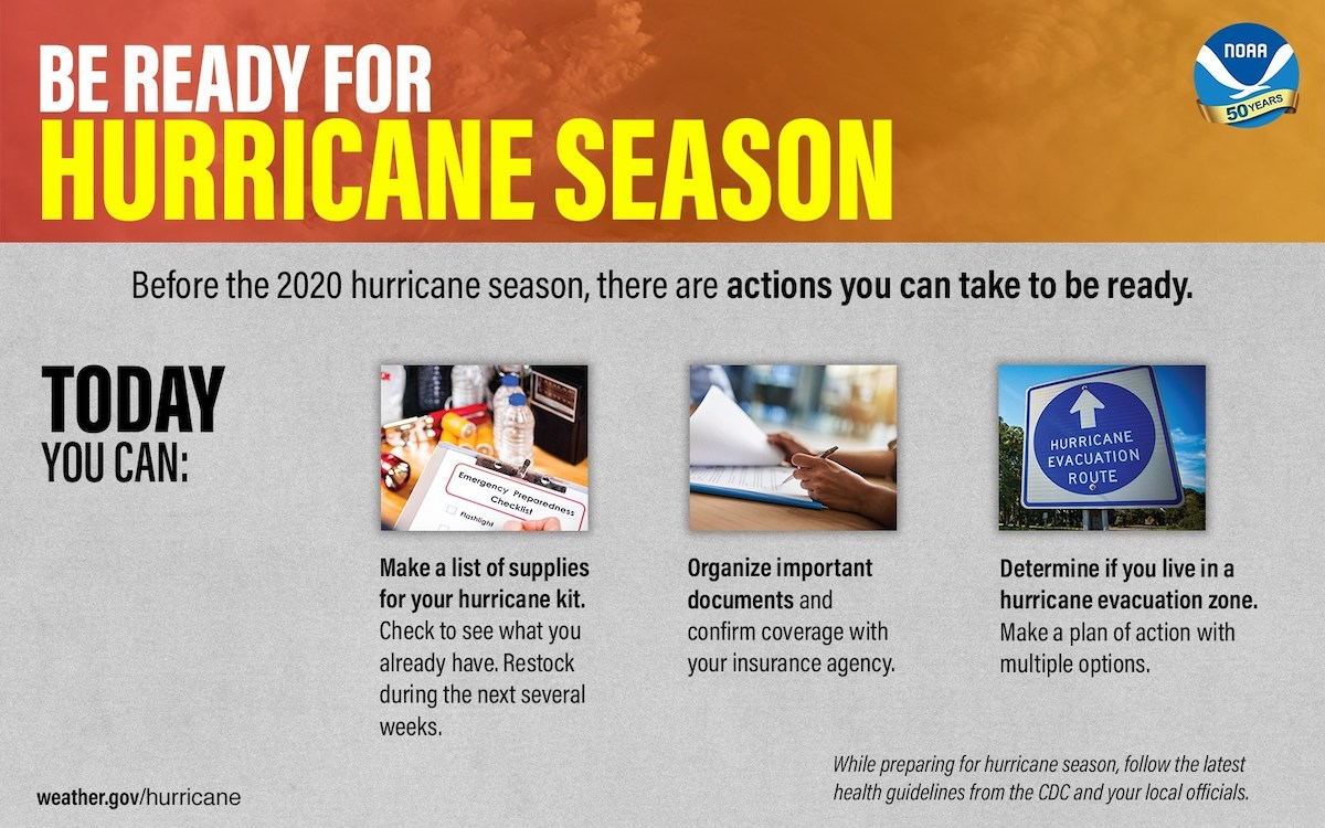 NOAA Hurricane Preparedness Week 2020